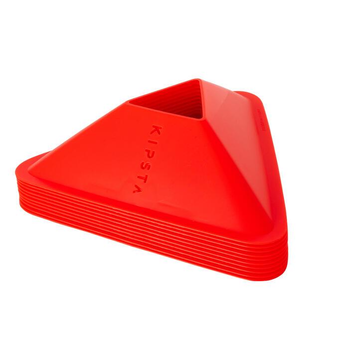 Trainingshütchen Essential 10er-Set orange