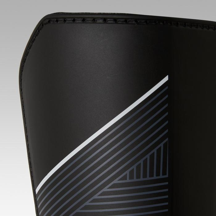 Scheenbeschermers voetbal F140 zwart