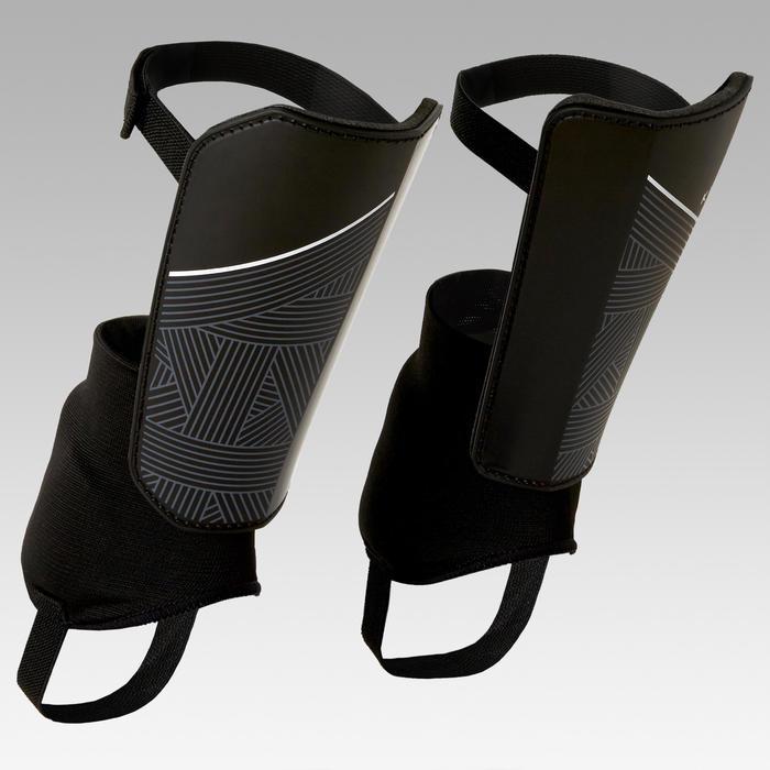Schienbeinschoner F140 mit herausnehmbarem Knöchelschutz Erwachsene schwarz