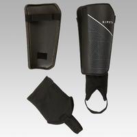 F140 Kids' Detachable Ankle Guard Soccer Shin Pads - Black