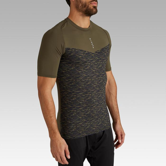 Funktionsshirt Keepdry 100 atmungsaktiv Erwachsene khaki
