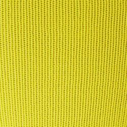 Fußballstutzen F500 mit Steg Erwachsene gelb