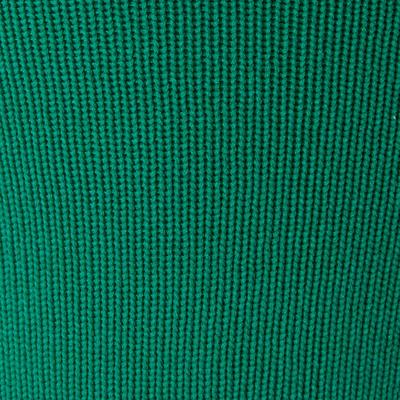 Футбольні гетри з петлями F500 - зелені