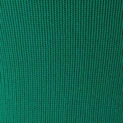 Chaussettes de football sans pied F500 vert
