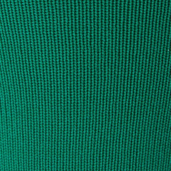 Voetloze voetbalkousen F500 groen