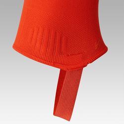 Voetloze voetbalkousen F500 oranje