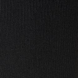無底足球長襪F500-黑色