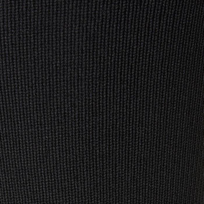Fußballstutzen F500 mit Steg schwarz