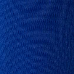 Fußballstutzen F500 mit Steg Erwachsene blau