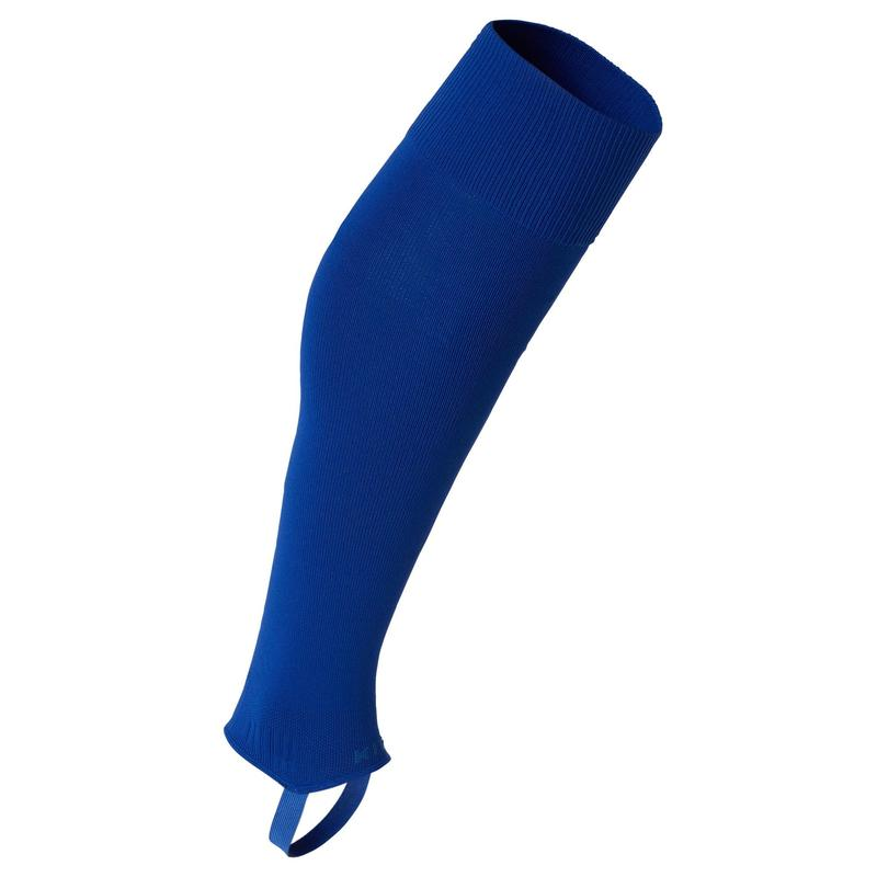Fotbalové štulpny bez ponožky F500 modré