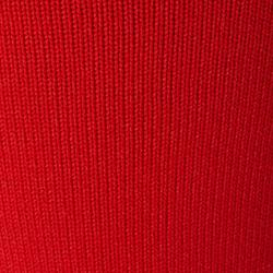 Voetloze voetbalkousen F500 rood