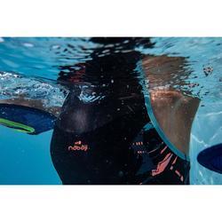 Badpak voor aquafitness dames Lena Juni blauw