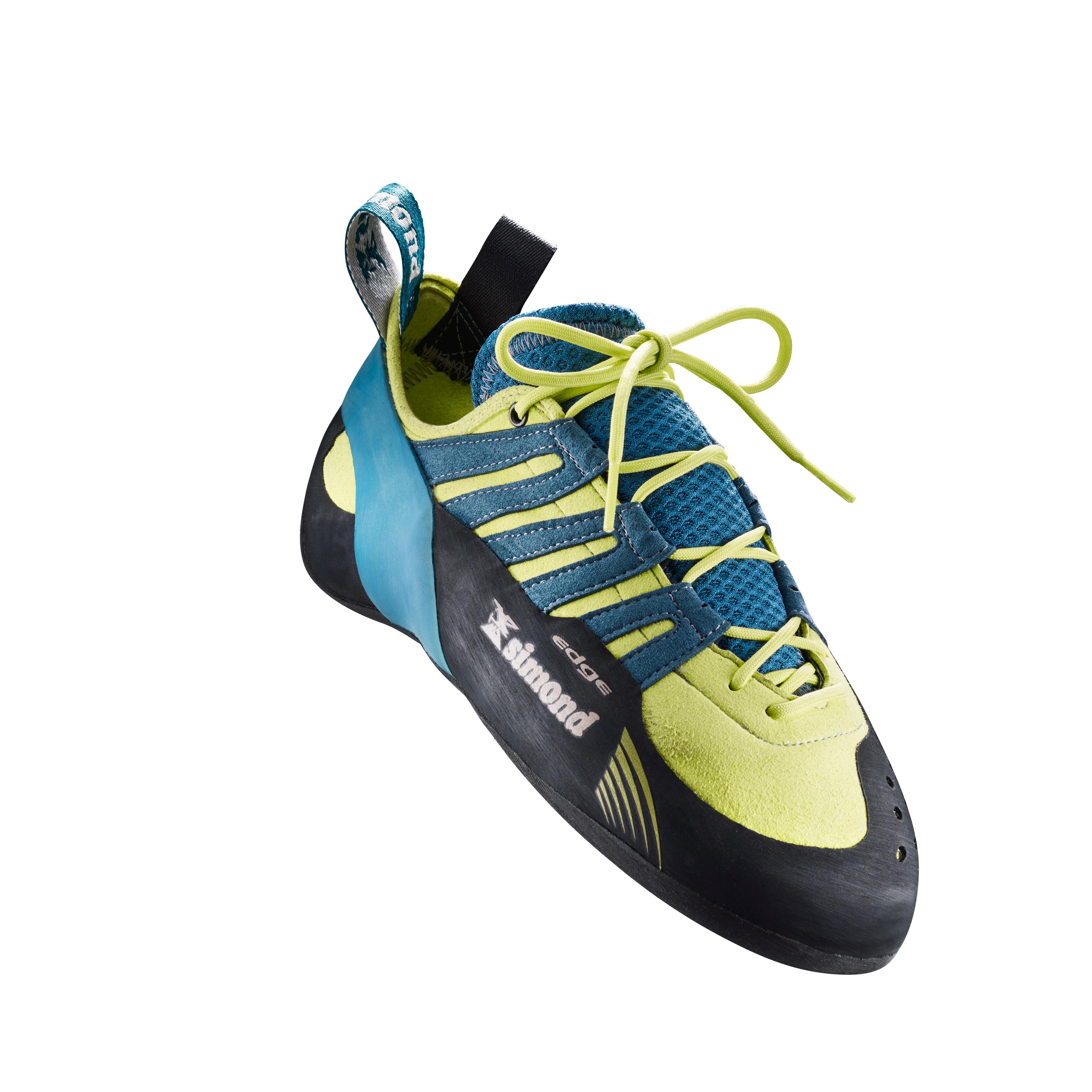 Kletterschuhe Edge 2 Schnürung Kinder/Erwachsene   Schuhe > Outdoorschuhe > Kletterschuhe   Simond