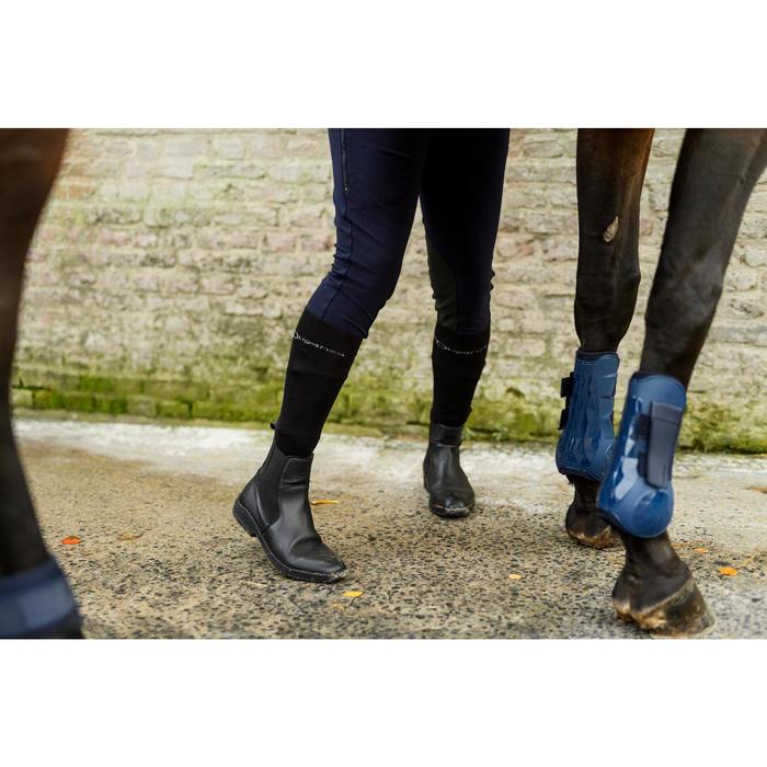 Open peesbeschermers voor paarden 500 Jumping marineblauw