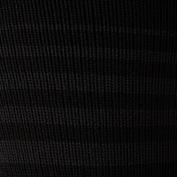 F500 Soccer Socks Black with Stripes - Kids'