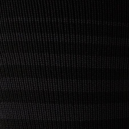 Medias de Fútbol Kipsta F500 niños negro