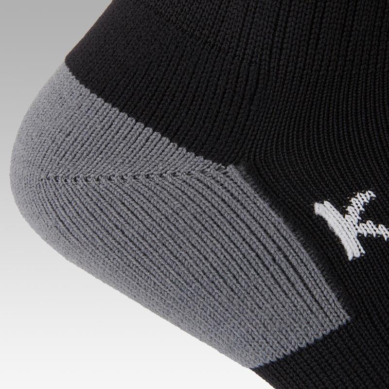 Calcetines de fútbol Kipsta F500 niños negro
