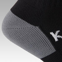 F500 Kids' Soccer Striped Socks - Black