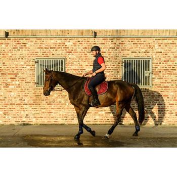 Mini-chaps cuir équitation adulte 560 noir