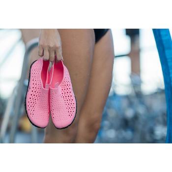 Aquadots Aquagym, Aquabiking and Aquafitness Shoes - Pink Grey
