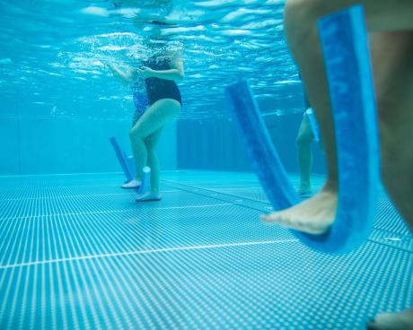 Exercice aquagym