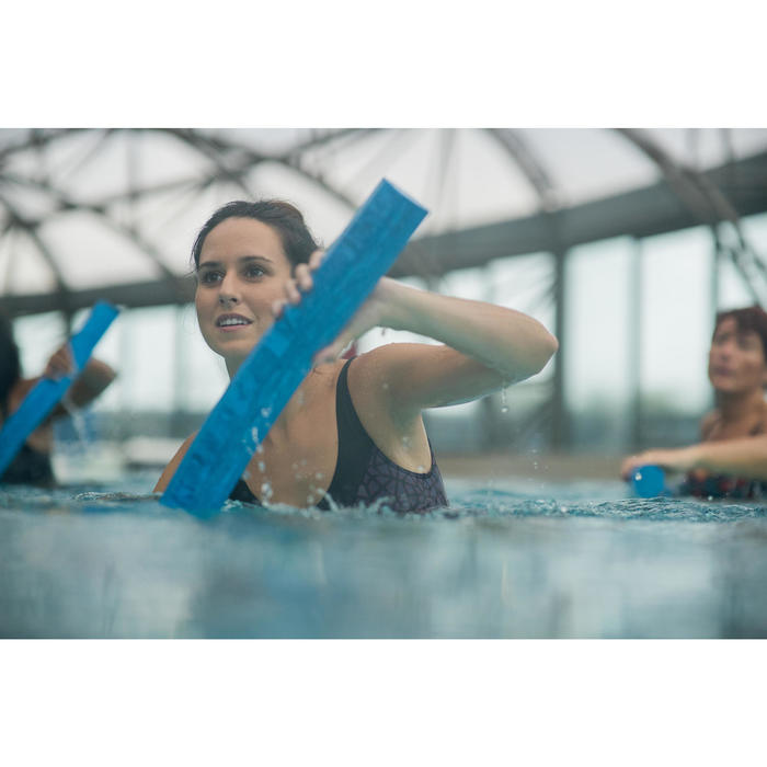 Badeanzug Aquagym Karli Lace figurformend Damen violett