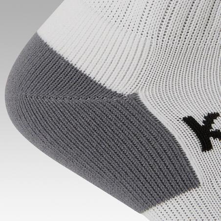 Calcetas de fútbol adulto F500 blanco