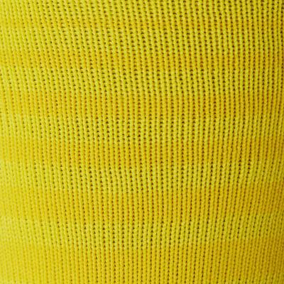 Chaussettes de football adulte F500 jaune