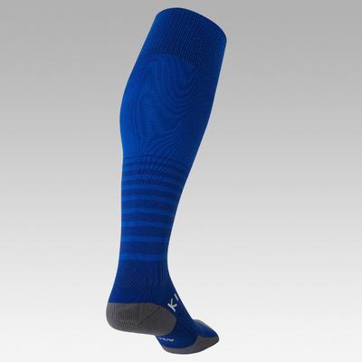Футбольні гетри 500 для дорослих - Темно-сині