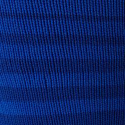 Stutzen F500 Kinder gestreift blau