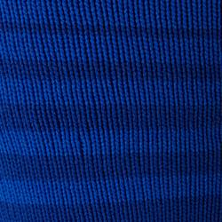 Voetbalkousen gestreept voor kinderen F500 blauw