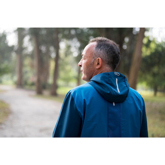 VESTE COUPE VENT RUNNING HOMME RUN WIND BLEU