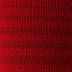 Stutzen F500 Kinder gestreift rot