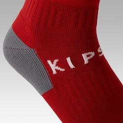 F500 Adult Football Socks - Red