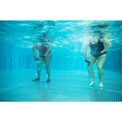 Chaussons d'Aquagym, Aquabike et Aquafitness Aquafun transparent