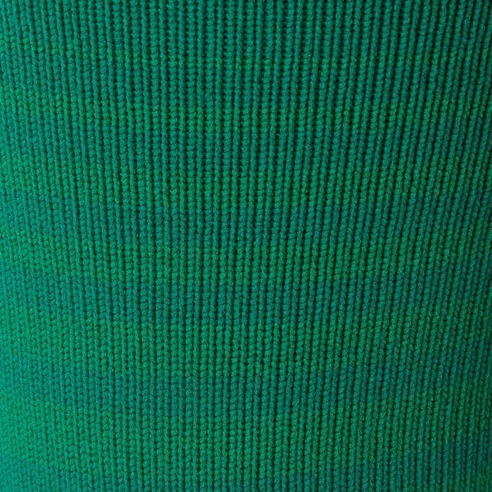 Medias de fútbol adulto F500 verde