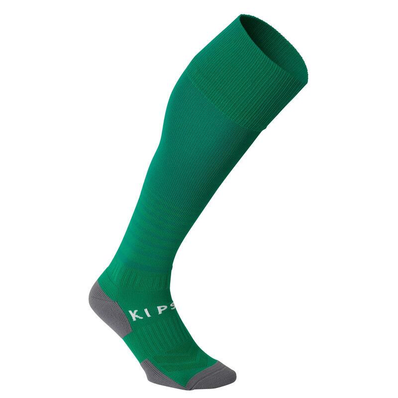 Voetbalsokken / voetbalkousen kind F500 groen