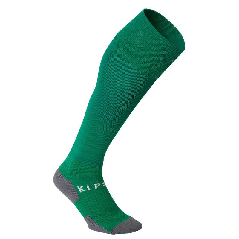 JR FOOTBALL SOCKS Nogomet - Čarape F500 dječje zelene KIPSTA - Čarape za nogomet