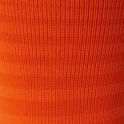Chaussettes de football adulte F500 orange