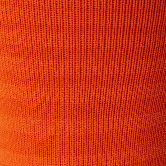 Medias de fútbol adulto F500 naranja