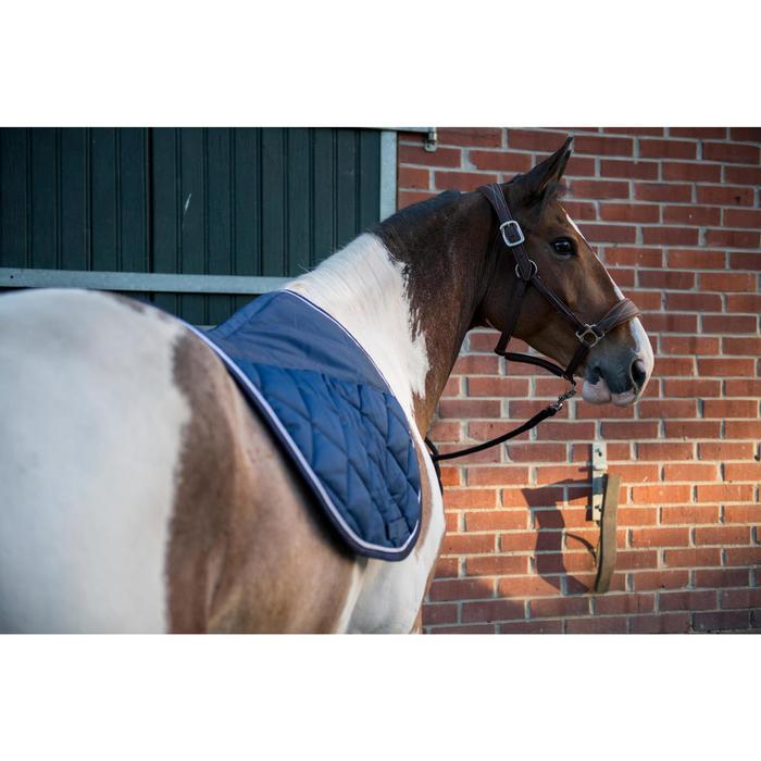 Mantilla de equitación caballo 540 azul