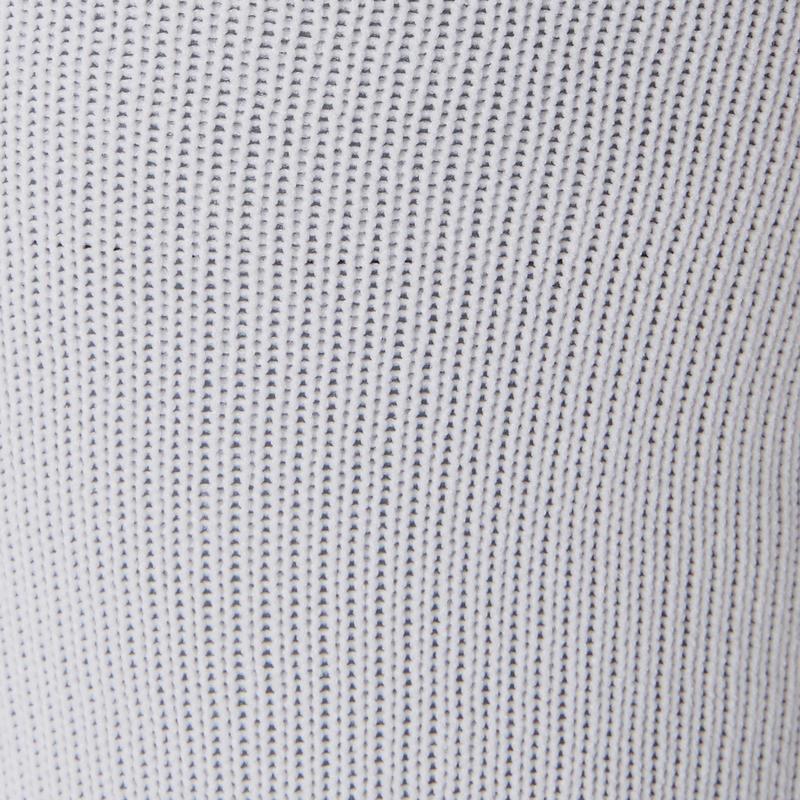 Calcetas de fútbol niños F100 blancas