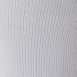 Chaussette de football enfant F100 blanche