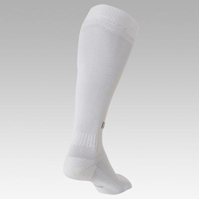 Chaussettes de football adulte F100 blanc