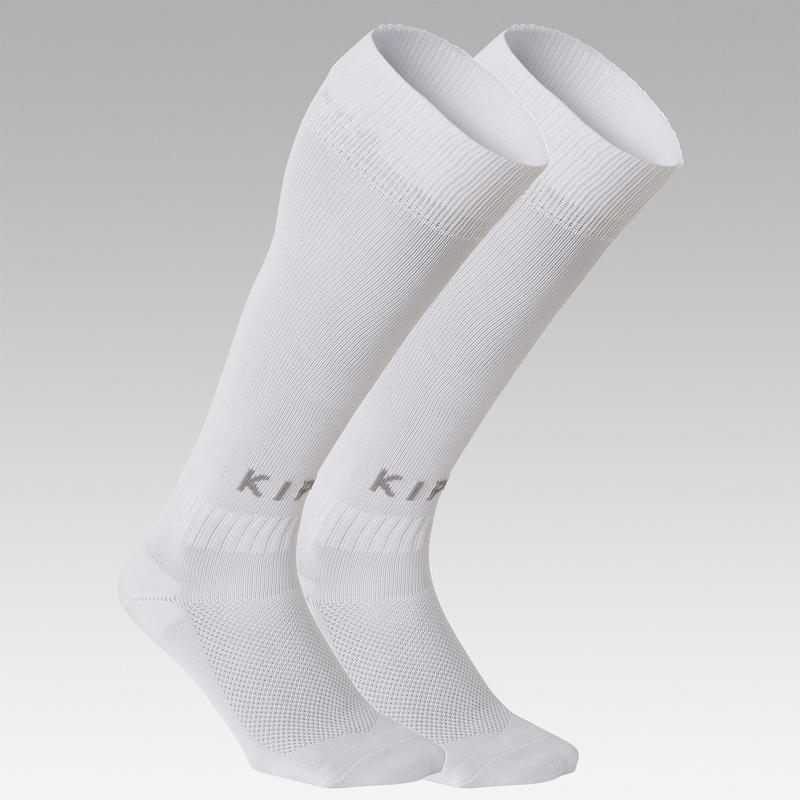 Kids' Football Socks F100 - White
