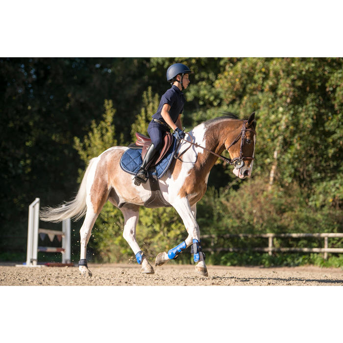 Schabracke 540 Pferd blau