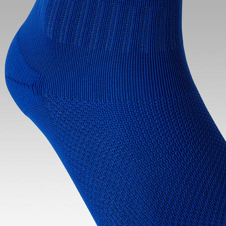 F100 Kaus Kaki Sepak Bola Dewasa - Biru