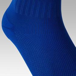 Chaussettes de football adulte F100 bleue