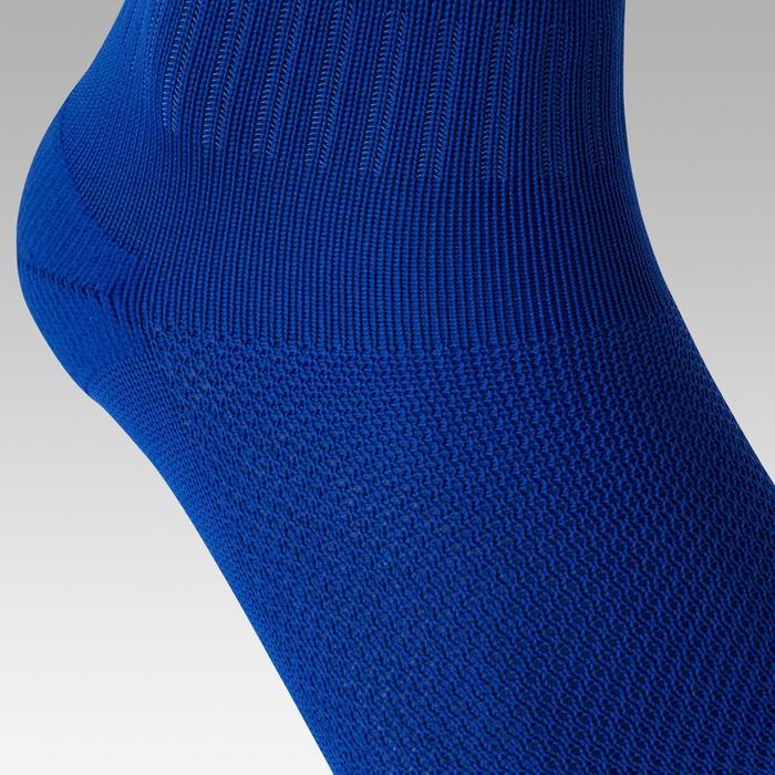 Medias de fútbol adulto F100 azul