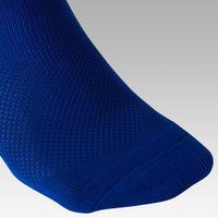 Calcetas de fútbol niños F100 azul índigo